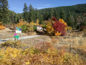 2.56 acre + home in Creston BC,  Property Guys Listed
