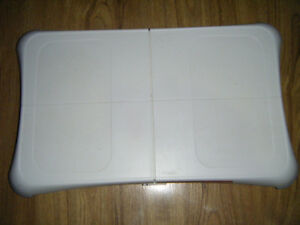 Wii Balance Board and Game