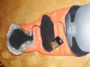 ORANGE DOG COAT