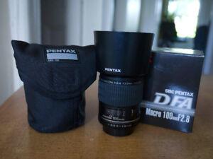 PENTAX DFA 100MM MACRO 2.8