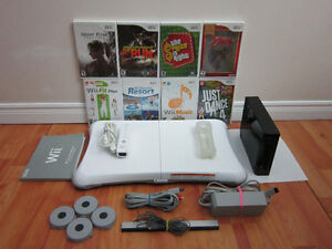 Nintendo Wii And Games Bundle