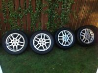 "VAUXHALL VECTRA ASTRA ZAFIRA 16"" 5 STUD ALLOY WHEELS IN EXCELLENT CONDITION"