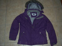 Girl's winter Firefly jacket,. Size large
