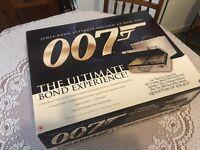 Ultimate James Bond DVD set in aluminium attaché case