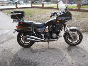 1983 honda cb-1000 custom parts bike