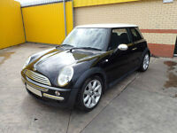 2003 BMW MINI COOPER 1.6 PETROL 5 SPEED