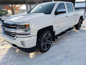 Chevrolet Silverado 1500 High Country 4x4 2016 blanc