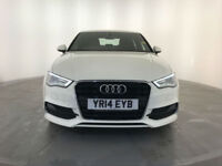 2014 AUDI A3 S LINE TDI 4 DOOR SALOON 1 OWNER AUDI SERVICE HISTORY FINANCE PX