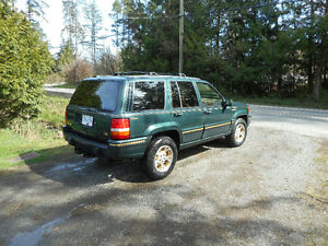 1993 Jeep Grand Cherokee Limited SUV, Crossover