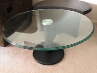 Black Art Deco Coffee Table