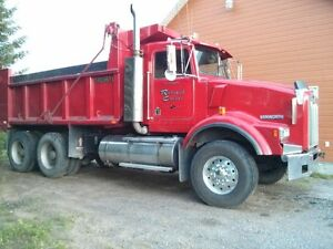 camion kenworth 10 roues