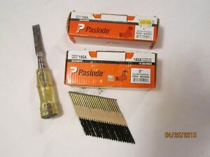 Galvanized Paslode Nails etc