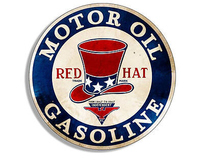"4/"" vintage gulf gasoline motor oil car bumper decal usa made"