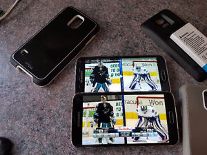 Two Samsung Galaxy S5 phones with extras!