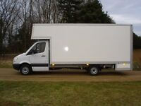 24/7 RELIABLE MOVING VAN HIRE WITH DRIVER NATIONWIDE MOVERS EUROPE DELIVERY MAN WITH VAN CLEARANCE