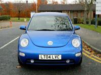 2004 04 Volkswagen Beetle 2.3 V5 3dr In KINGFISHER BLUE MET