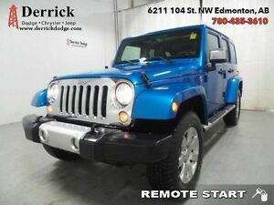 2014 Jeep Wrangler Unlimited   Used 4X4 Sahara MOPAR Prem Chrome