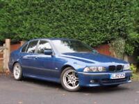 2002 BMW 525 2.5TD 2002MY d Sport Avus Blue, DIESEL, AUTOMATIC, M SPORT,