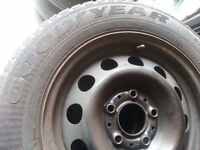 BMW E36 3 Series Steelies set GOOD Condition ALL SEASON TIRES