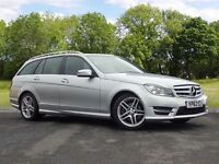 Mercedes-Benz C CLASS 2.1 C250 CDI AMG Sport 7G-Tronic Plus 5dr (silver) 2013