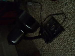 Little black desk lamp