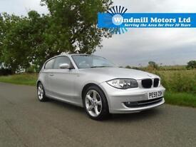 2009/59 BMW 1 SERIES 2.0 116D SPORT 3DR SILVER - £30 ROAD TAX - 70 MPG