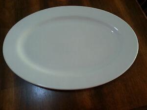 White Serving Platter