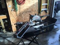 "Bosch wet saw 10"" and Brutus score snap"