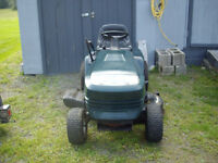 17hp lawn tractor