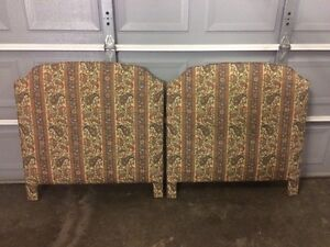 2 Twin Bed Headboards
