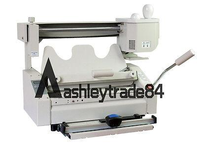 New Manual Numerical Control Hot Glue Book Binding Binder Machine 220v