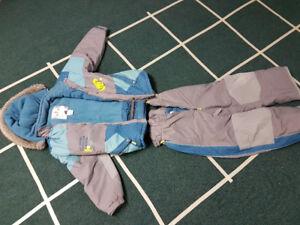 Boys snowsuit, 2 piece