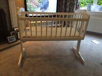 White Baby Crib