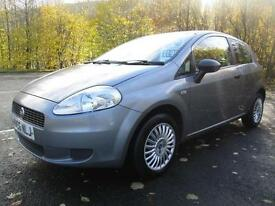 06/06 FIAT GRANDE PUNTO 1.2 ACTIVE SPORT 3DR HATCH IN MET GREY