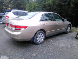 2005 Honda Accord 4cyl auto