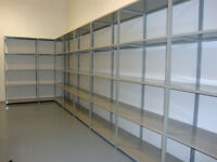 Steel Shelving - economical w industrial strength and durability