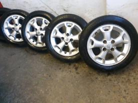 Citroën c1 peugeot 107 Toyota aygo IQ alloy wheels