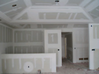 Drywall and tape/mud free estimates.