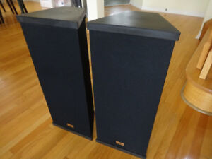 Nightingale 2-way 100 watt audio speakers for sale