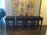 Urban Barn Bar Stools (4 for $400 or $125 each)