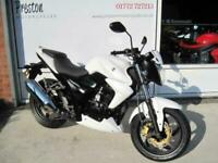 2020 SYM WOLF 125CCGEARED BIKE .125CC FULLSIZE. NAKED .EX DISPLAY ONE ONLY