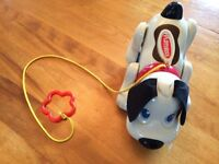 Playskool Walk 'N Sounds Digger the Dog Pull Toy