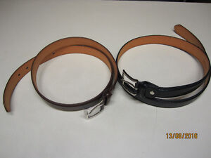 NEW LEATHER BELTS FOR SALE. Strathcona County Edmonton Area image 1