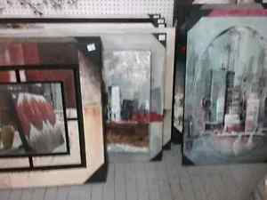 Metal wall art, Glassware, candles,  and more  Cambridge Kitchener Area image 8