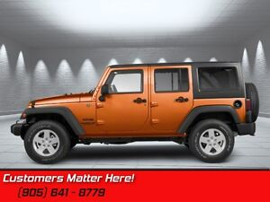 2011 Jeep Wrangler Unlimited Sahara   4X4, AUTO, HARDTOP, POWER