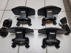 Thule kayak cradles with load straps( UNIVERSAL MOUNT)