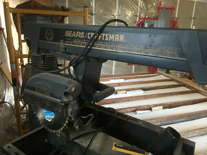 Sears craftsman radial arm saw