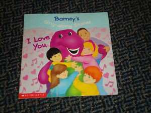 Barney's Sing-Along Stories: I Love You Paperback