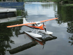 """59""""  wingspan Beaver Airplane Radio Control with complete kit."""