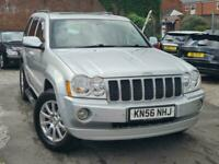 2006 Jeep Grand Cherokee V6 Crd Overland auto 3 Estate Diesel Automatic